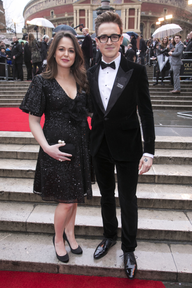 <p>Giovanna Fletcher and Tom Fletcher</p><br />© Dan Wooller