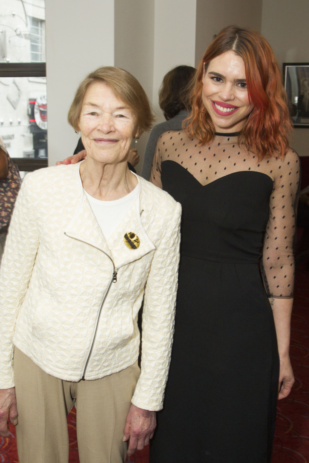 <p>Glenda Jackson and Billie Piper</p><br />© Dan Wooller for WhatsOnStage