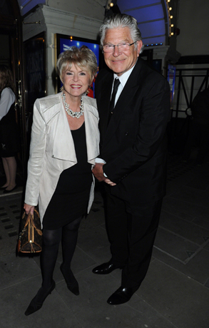 <p>Gloria Hunniford and Stephen Way </p><br />© Alan Davidson
