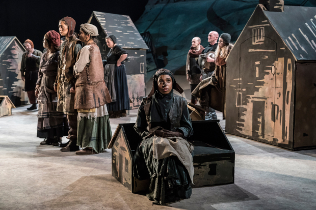 <p>Grace Saif (Healer&#39&#x3B;s Daughter) in <em>Saint George and the Dragon</em></p><br />© Johan Persson