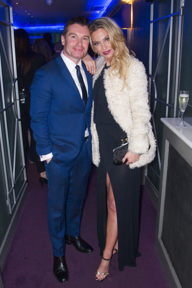 <p>Greg Burns and Sarah Harding</p><br />© Dan Wooller for WhatsOnStage
