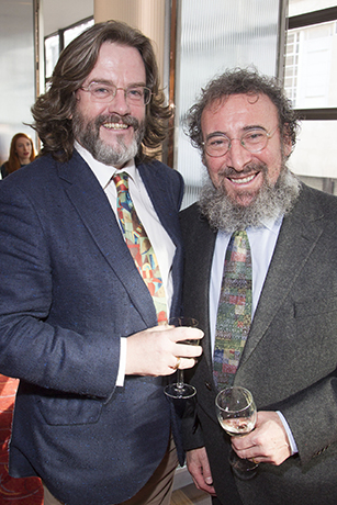 <p>Gregory Doran and Antony Sher</p><br />(© Dan Wooller)