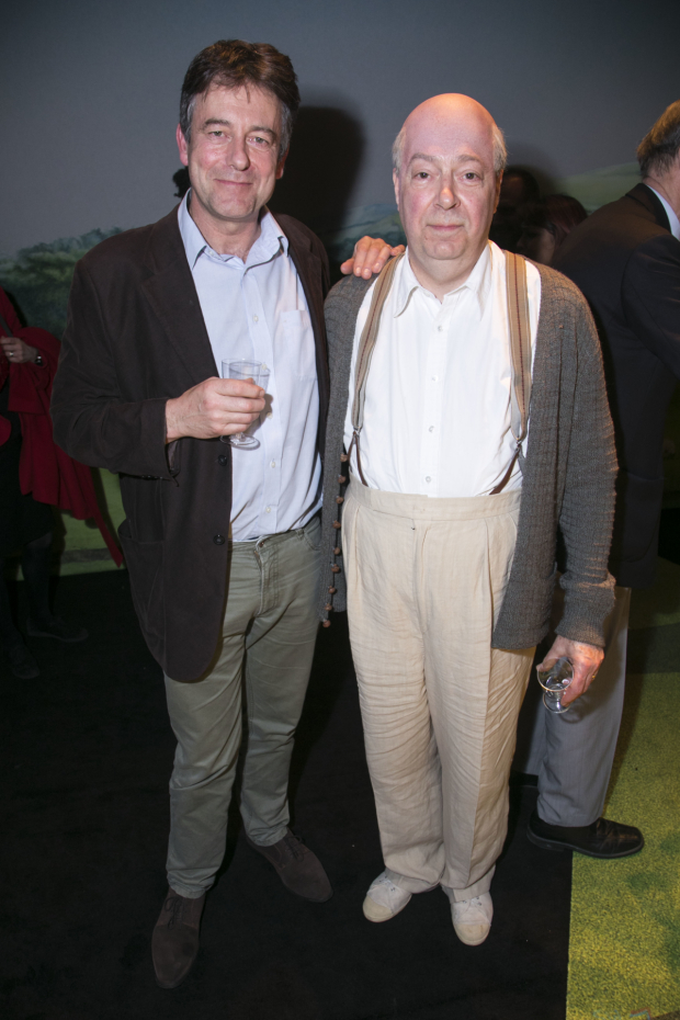 <p>Gus Christie and Roger Allam (John Christie)</p><br />© Dan Wooller for WhatsOnStage