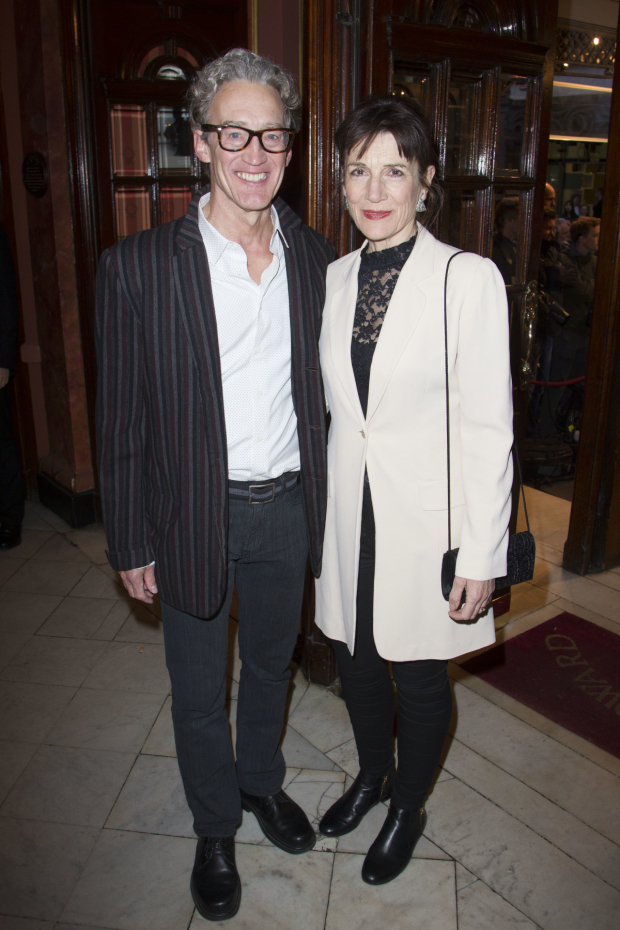 <p>Guy Henry and Harriet Walter</p><br />© Dan Wooller for WhatsOnStage