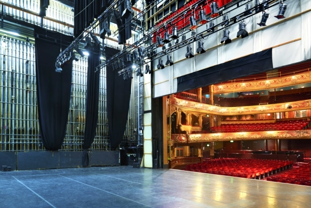 <p>Hackney Empire from backstage</p><br />© Peter Dazeley