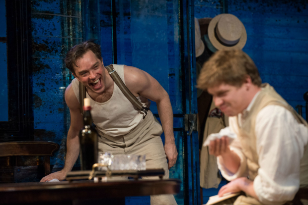 <p>Hadley Fraser and Billy Howle in  in <em>Long Day&#39&#x3B;s Journey Into Night</em></p><br />© Hugo Glendinning