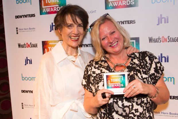 <p>Harriet Walter and Jenny Sealey</p><br />© Dan Wooller for WhatsOnStage