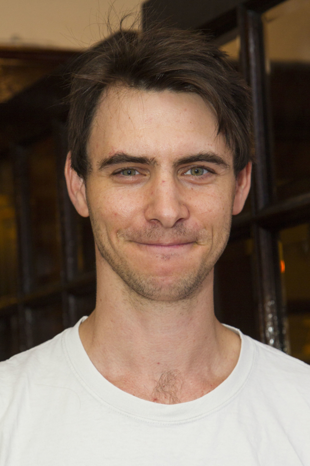 <p>Harry Lloyd</p><br />© Dan Wooller for WhatsOnStage