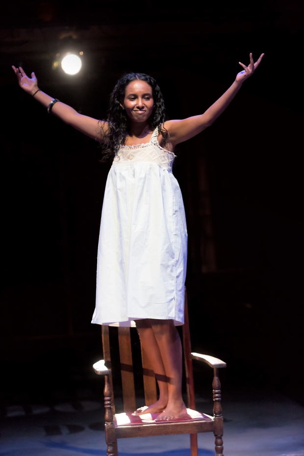 <p>Hermon-Berhane in <em>The House of Bernarda Alba</em></p><br />©Jonathan Keenan