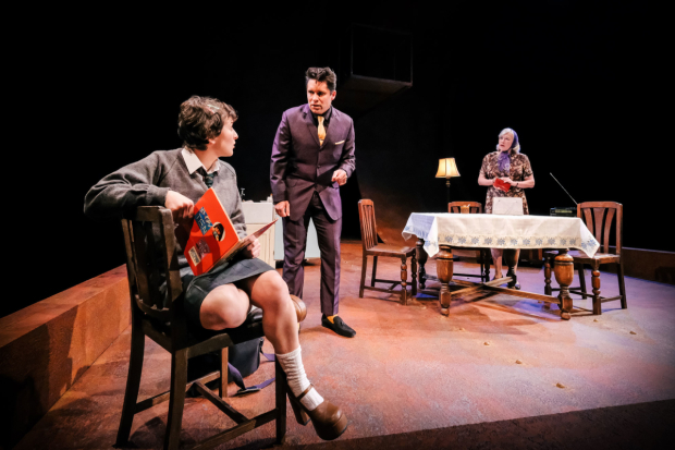 <p>Hester Arden, Niall Costigan and Sarah Parks in <em>The Gaul</em></p><br />© Andrew Billington