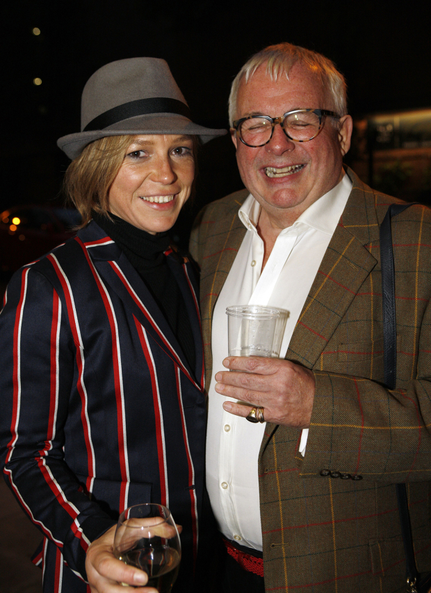 <p>Honeysuckle Weeks and Christopher Biggins</p><br />© Simon Annand