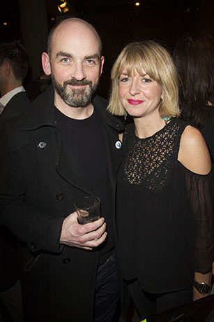<p>Ian Conningham and Alecky Blythe</p><br />© Dan Wooller for WhatsOnStage