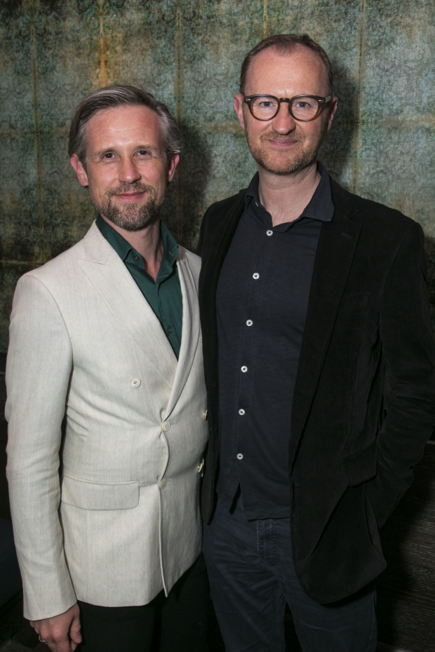 <p>Ian Hallard and Mark Gatiss</p><br />© Dan Wooller
