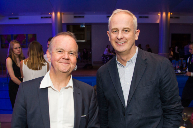 <p>Ian Hislop and Dominic Cooke</p><br />© Dan Wooller