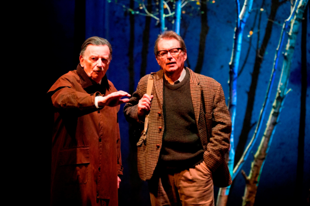<p>Ian McDiarmid as Enoch Powell and George Costigan as Clem Jones  in <em>What Shadows</em></p><br />© Ellie Kurttz