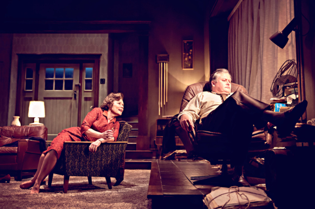 <p>Imelda Staunton and Conleth Hill in <em>Who&#39&#x3B;s Afraid of Virginia Woolf?</em></p><br />© JOHAN PERSSON