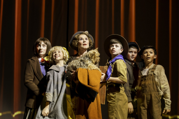 <p>Imelda Staunton as Momma Rose and company</p><br />© Johan Persson