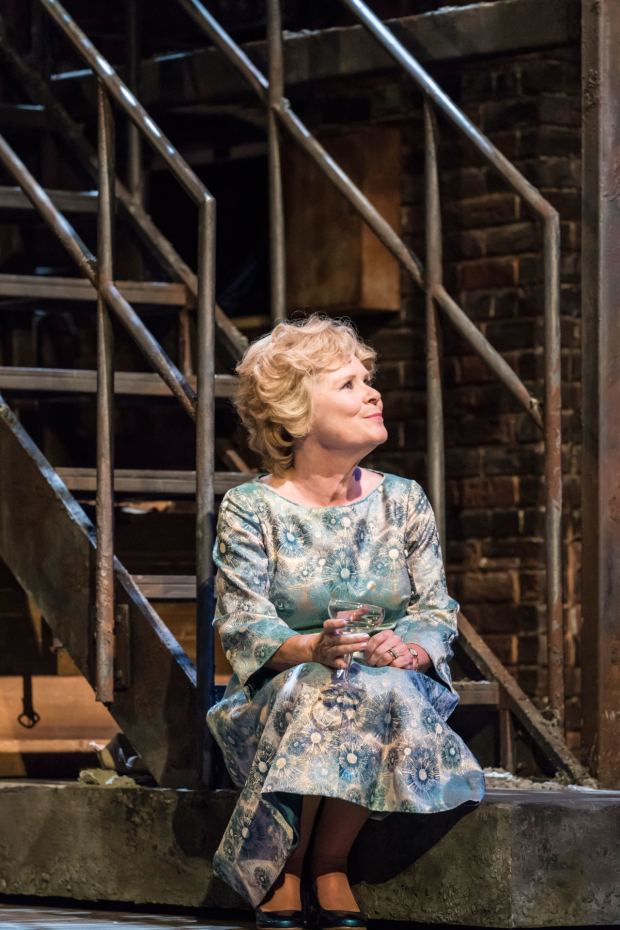 <p>Imelda Staunton as Sally Durant Plummer in <em>Follies</em> at the National Theatre</p><br />© Johan Persson