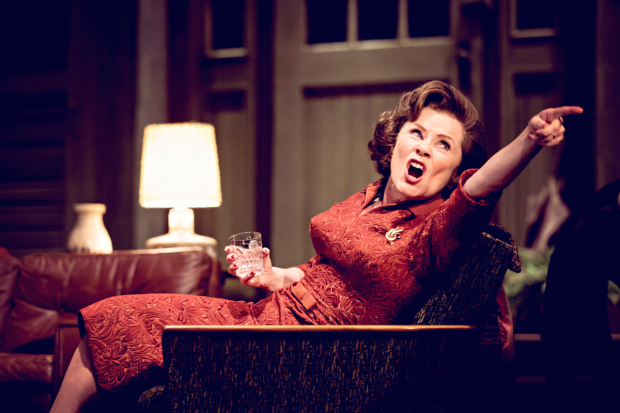 <p>Imelda Staunton in <em>Who&#39&#x3B;s Afraid of Virginia Woolf?</em></p><br />© JOHAN PERSSON