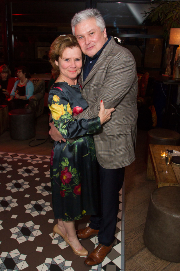 <p>Imelda Staunton (Martha) and Conleth Hill (George)</p><br />©  Dan Wooller for WhatsOnStage