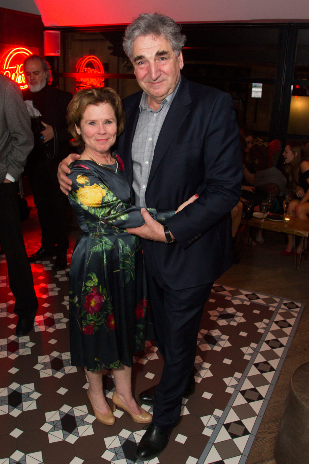 <p>Imelda Staunton (Martha) and Jim Carter</p><br />©  Dan Wooller for WhatsOnStage