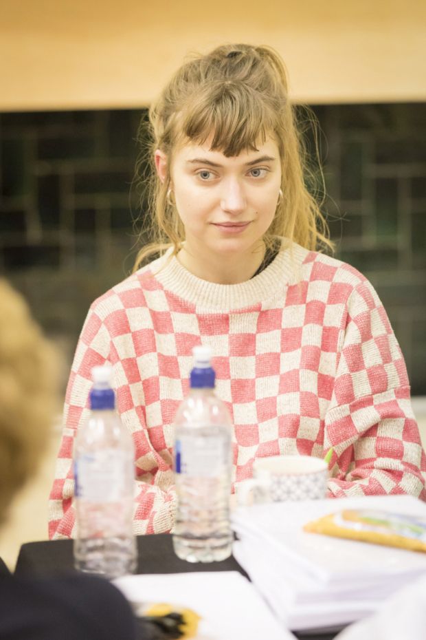 <p>Imogen Poots in rehearsals for <em>Who&#39&#x3B;s Afraid of Virginia Woolf?</em></p><br />© Johan Persson