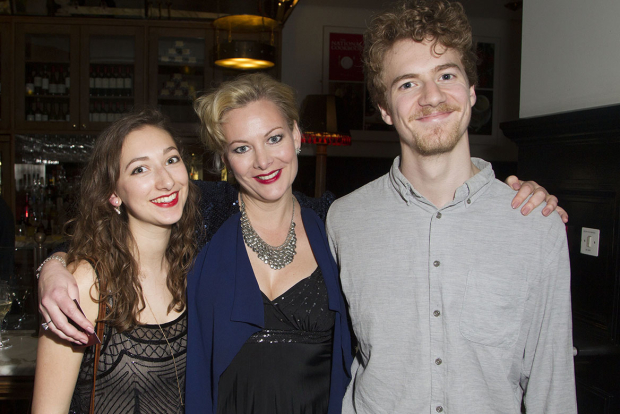 <p>India Gillett, Sara Stewart and Sam Gillett</p><br />© Dan Wooller for WhatsOnStage