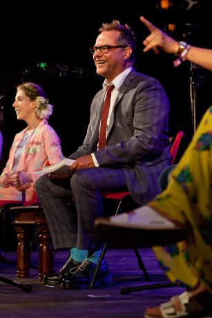 <p>Jack Dee and his Helpdesk</p><br />© Rebecca Naen