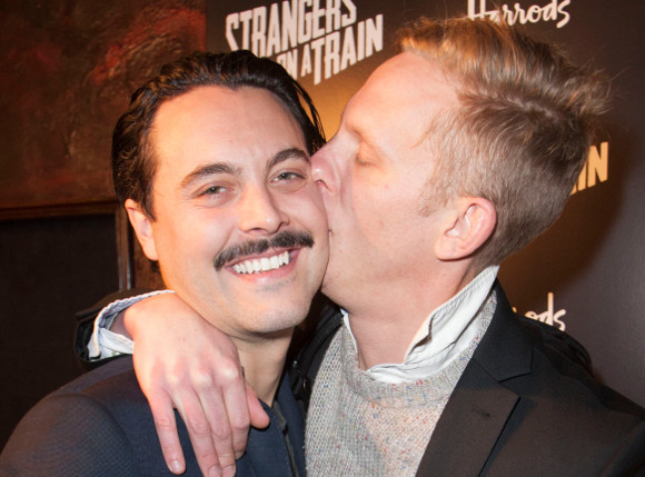 <p>Jack Huston and Laurence Fox</p><br />© Dan Wooller