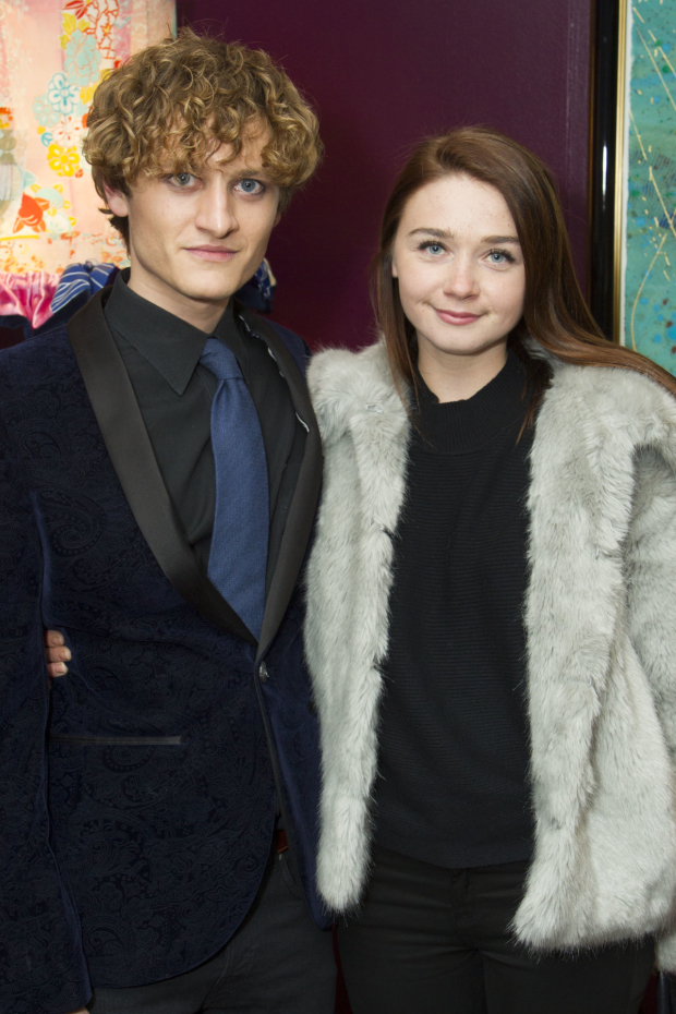 <p>Jack Sain and Jessica Barden</p><br />© Dan Wooller for WhatsOnStage �