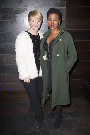 <p>Jackie Clune and Jade Anouka</p><br />Dan Wooller for WhatsOnStage