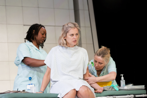 <p>Jacqui Dubois, Denise Gough, Sally George in <em>People, Places and Things</em></p><br />© JOHAN PERSSON