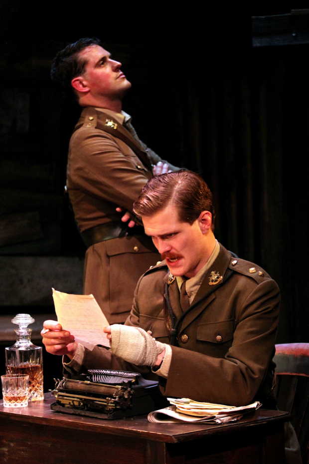 <p>James Dutton and George Kemp in <em>The Wipers Times</em></p><br />© Philip Tull