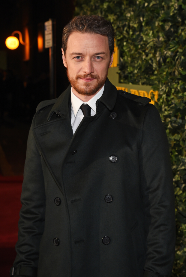 <p>James McAvoy</p><br />© Dave Benett