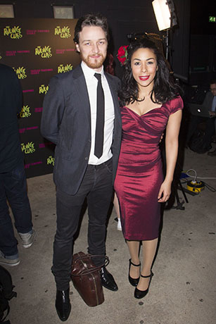 <p>James McAvoy and Kathryn Drysdale</p><br />Dan Wooller for WhatsOnStage