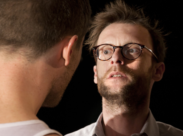 <p>James Norton and Carl Prekopp in <em>Bug</em></p><br />© Simon Annand