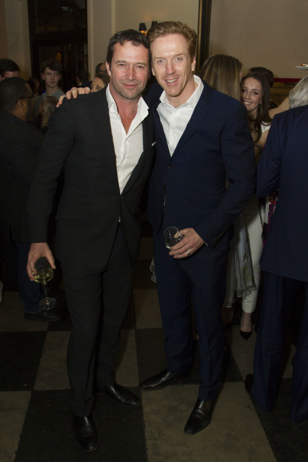 <p>James Purefoy and Damian Lewis (Martin)</p><br />© Dan Wooller for WhatsOnStage
