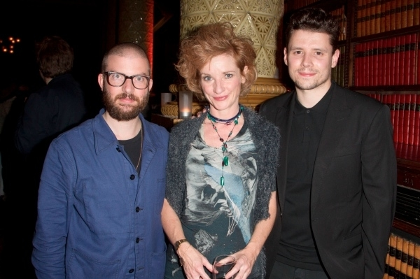 <p>Jamie Lloyd, Jane Horrocks and Sam Yates</p><br />© Dan Wooller