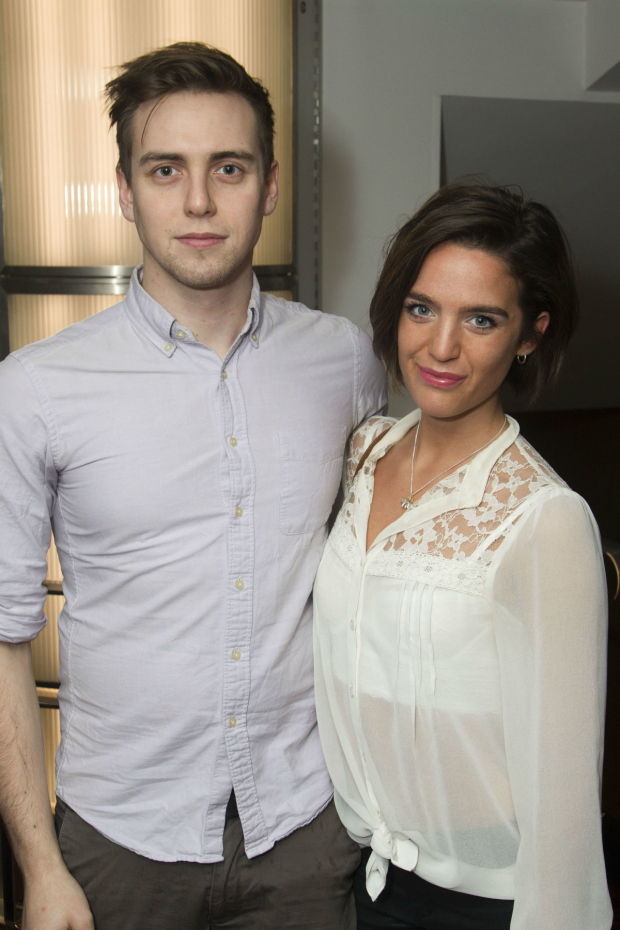 <p>Jamie Muscato and Lauren Samuels who star in <em>Bend It Like Beckham</em> which won best musical</p><br />© Dan Wooller