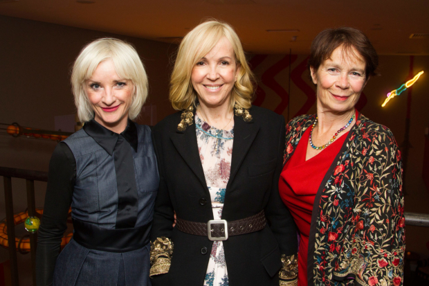 <p>Jane Horrocks (Regan), Sally Greene (chief executive) and Celia Imrie (goneril)</p><br />© Dan Wooller, 2016