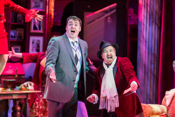 <p>Jason Manford as Leo Bloom and Cory English as Max Bialystock</p><br />Manuel Harlan