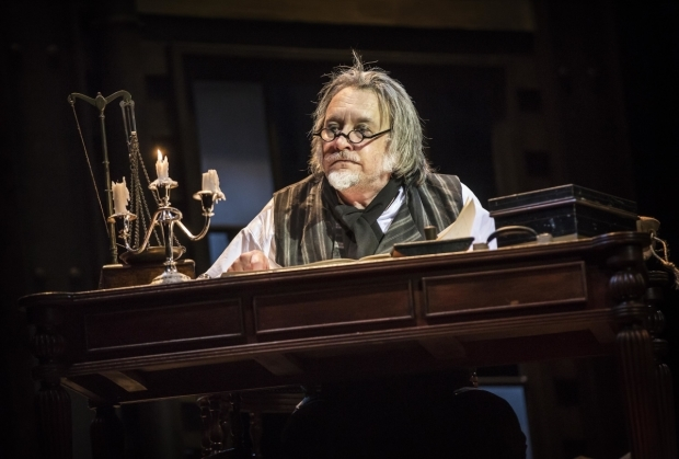 <p>Jasper Britton as Scrooge</p><br />© Pamela Raith