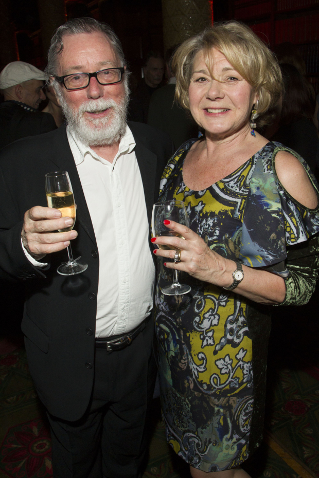 <p>Jeff Rawle (Uncle Willie) and Barbara Flynn (Margaret Lord)</p><br />© Dan Wooller for WhatsOnStage