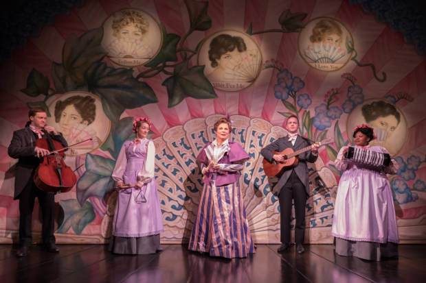 <p>Jennifer Saunders and the cast of <em>Lady Windermere&#39&#x3B;s Fan</em></p><br />© Marc Brenner
