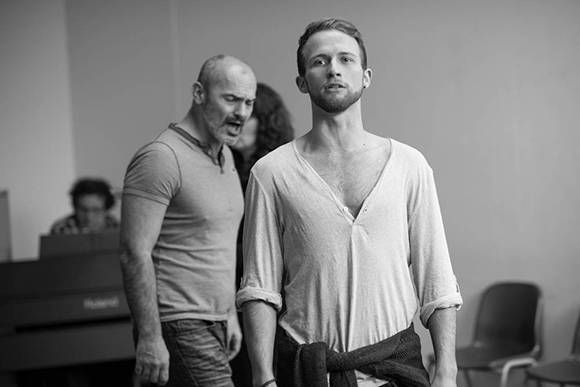 <p>Jérôme Pradon and Joel Harper-Jackson</p><br />© Jamie Scott-Smith