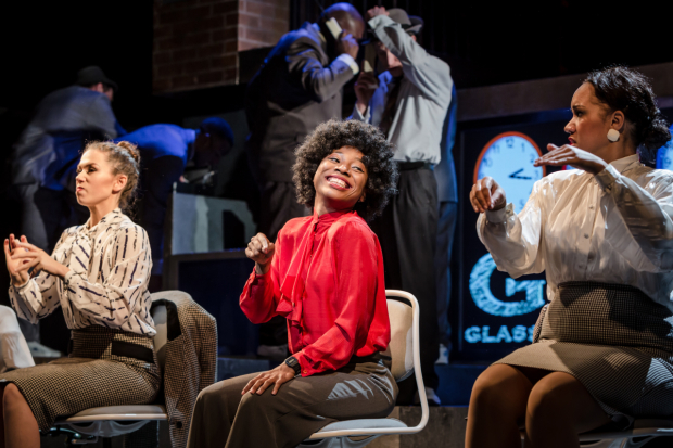 <p>Jessica Pardoe, Sophia Mackay and Sharon Watt in <em>The Bubbly Black Girl Sheds Her Chameleon Skin</em></p><br />© Scott Rylander