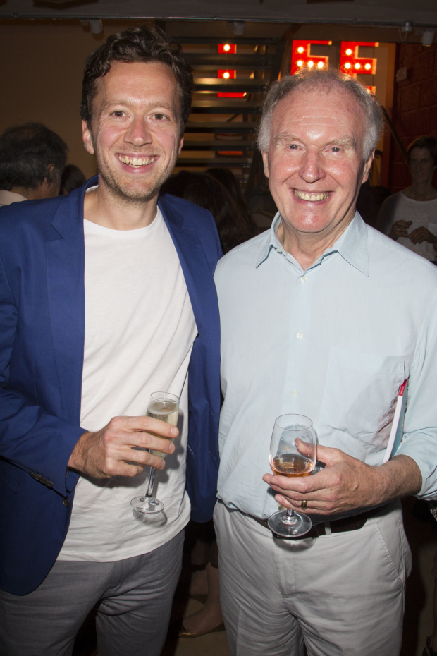 <p>Jez Bond and Tim Pigott-Smith in 2013</p><br />© Dan Wooller for WhatOnStage