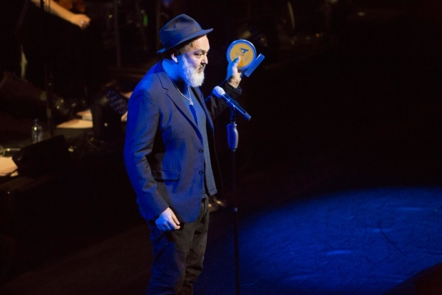 <p>Jez Butterworth accepting the award for Best New Play</p><br />© Peter Gibbons