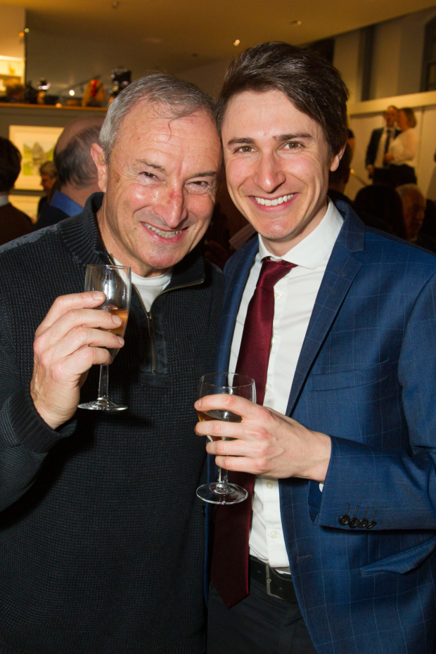 <p>Jim Rosenthal and Tom Rosenthal (Donald)</p><br />© Dan Wooller for WhatsOnStage