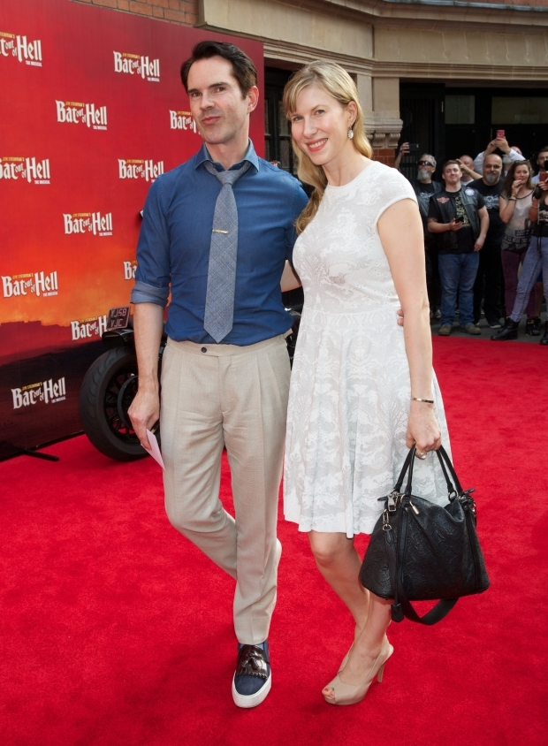 <p>Jimmy Carr and Karoline Copping</p><br />© Piers Allardyce